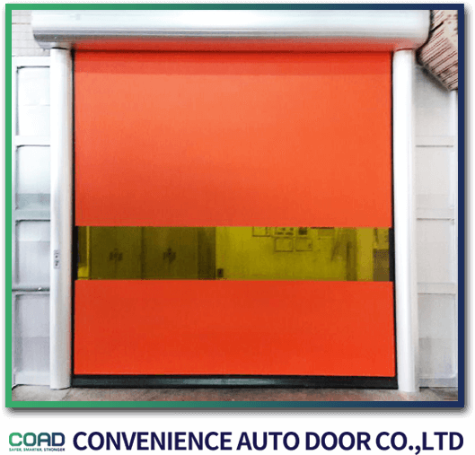 C-3 High speed door automatic recovery model by COAD