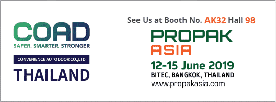 COAD exhibited propak asia 2019